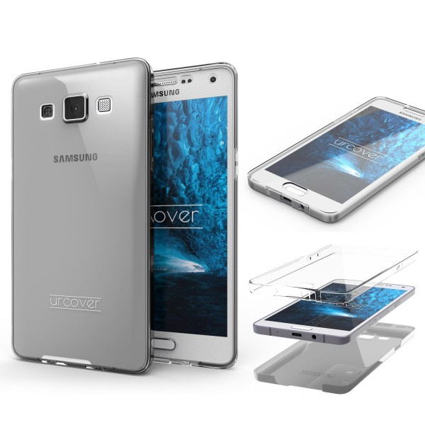 Samsung Galaxy A3 (2015) TPU Case 360 Grad Schutz Hülle Etui Cover Touch Case