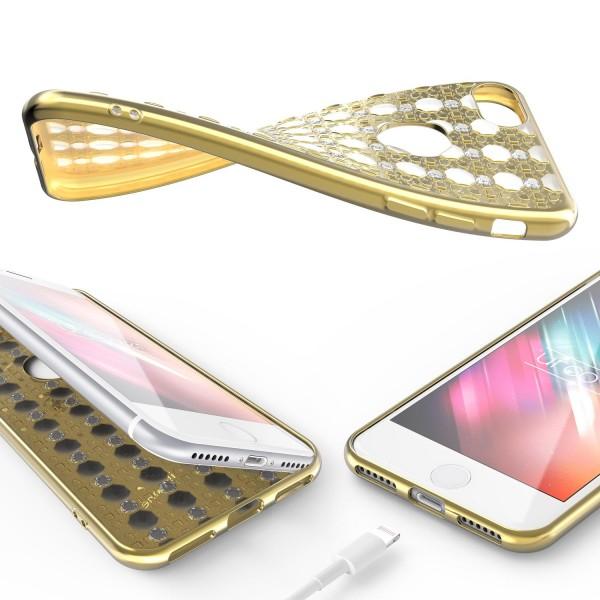 Urcover® Apple iPhone 7 Silikon Back Case Oriental Cover Schutzhülle Schale Etui