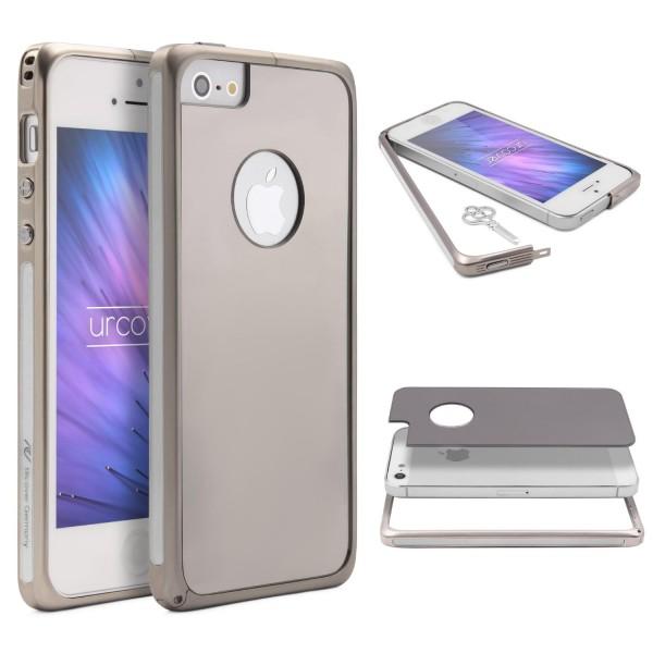 Urcover® Apple iPhone 5 / 5s / SE Spiegel Back Case Schutzhülle Spiegelhülle
