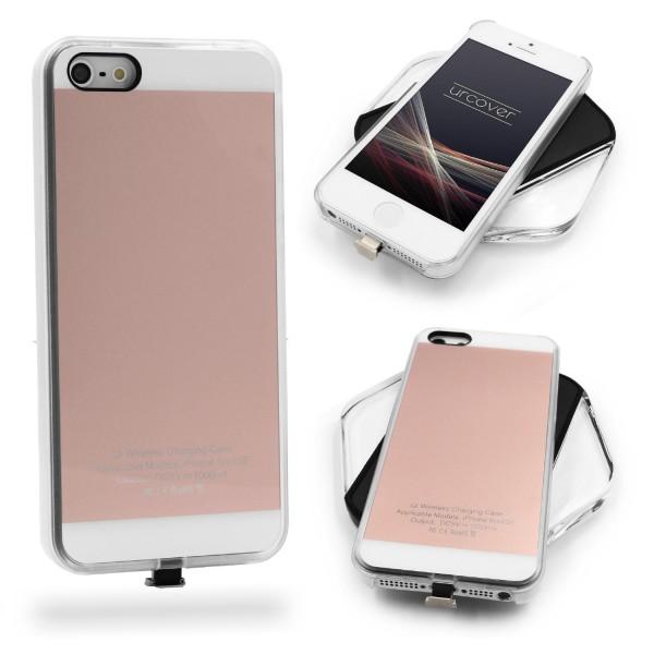 Apple iPhone 5 / 5s / SE Kabellos laden Schutzhülle funk Ladestation Case Cover
