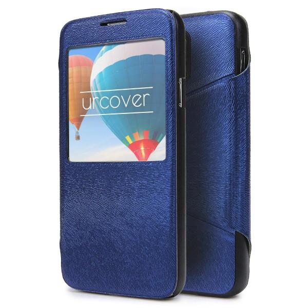 Urcover® Handy Schutz Hülle für Samsung Galaxy S5 View Case Fenster Cover Tasche