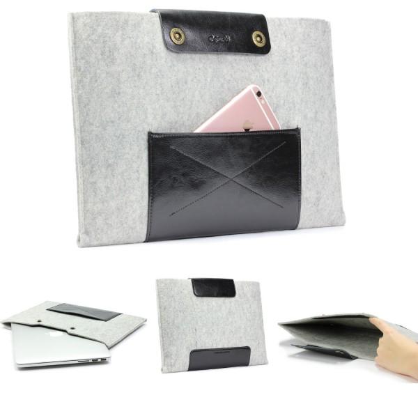 Urcover® Handmade Filz Mac-Book Pro Laptop Tasche 13,3 Zoll Sleeve