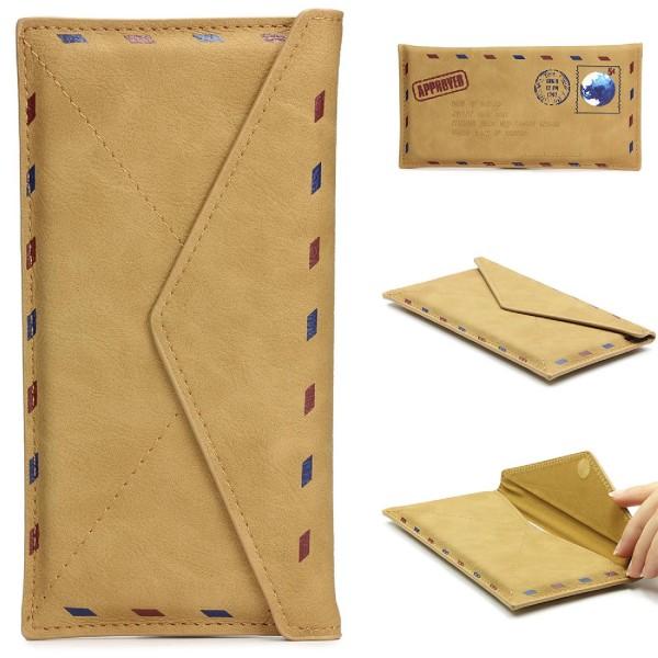 4,7 Zoll Kunst-Leder Schutz Hülle Postkarten Design Style Case Cover Tasche Etui