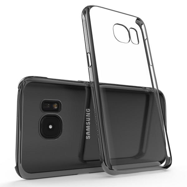 Urcover® Samsung Galaxy S7 Kunststoff Soft Back Case Cover Klar Bumper Etui