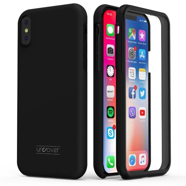 Apple iPhone X Touch Case 2018 Handy Schutz Hülle 360° Rundumschutz Cover Etui
