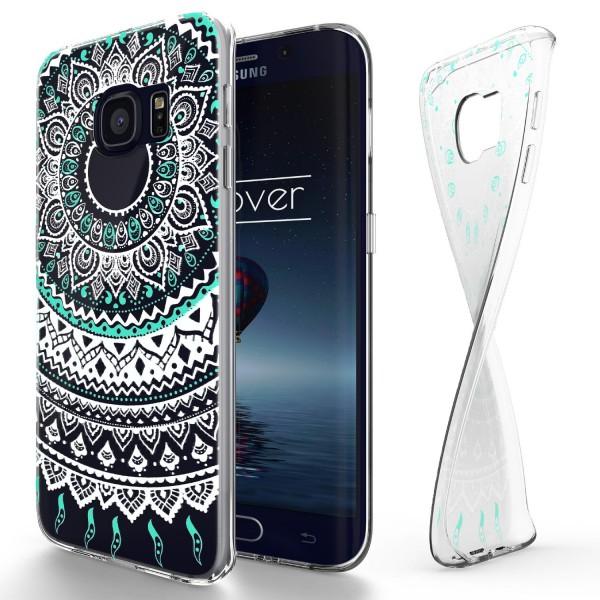 Urcover® Samsung Galaxy S6 Edge Schutz Hülle Case Cover Tasche Silikon Soft