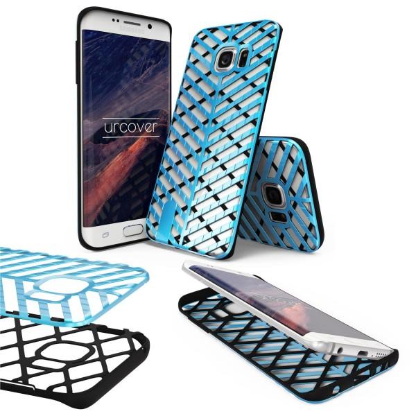 Urcover® Samsung Galaxy S6 Edge Schutzhülle Sword Series Back case Cover Hülle