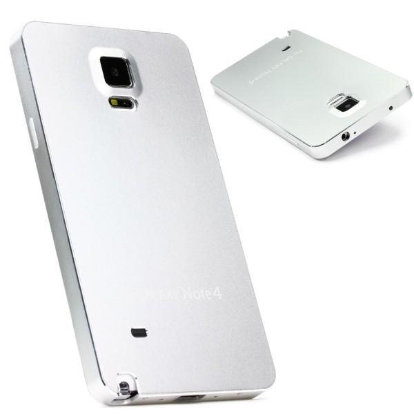 Samsung Galaxy Note 4 Urcover® Aluminium Backcase Schraubverschluss Schutz Hülle