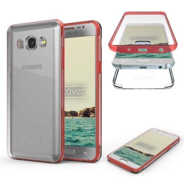 Samsung Galaxy J1 (2016) Touch Case 2017 Bumper Schutz Hülle 360° Rundumschutz