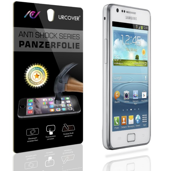 Samsung Galaxy Note 2 Display Schutz Folie Ultra Klar PET Handy Schutzfolie Clear