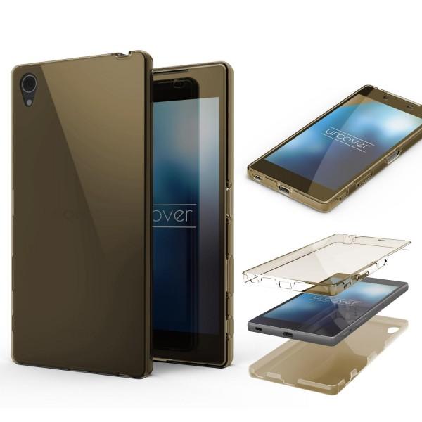 Sony Xperia Z5 Plus TPU Case 360 Grad Schutz Hülle Etui Cover Touch Case