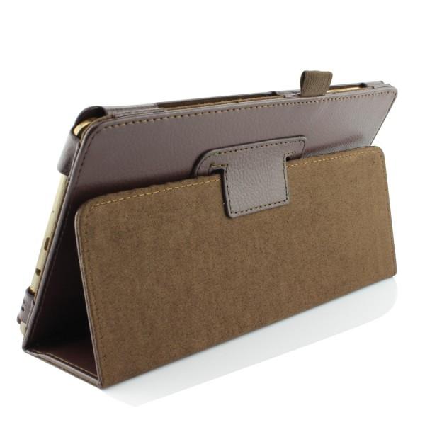 Urcover® Galaxy Tab S 8.5 Smart Case Hülle Sleeve Tasche [ Stand-Funktion ] Flip Cover, Edel Wallet, Tablet Zubehör Dunkel Blau