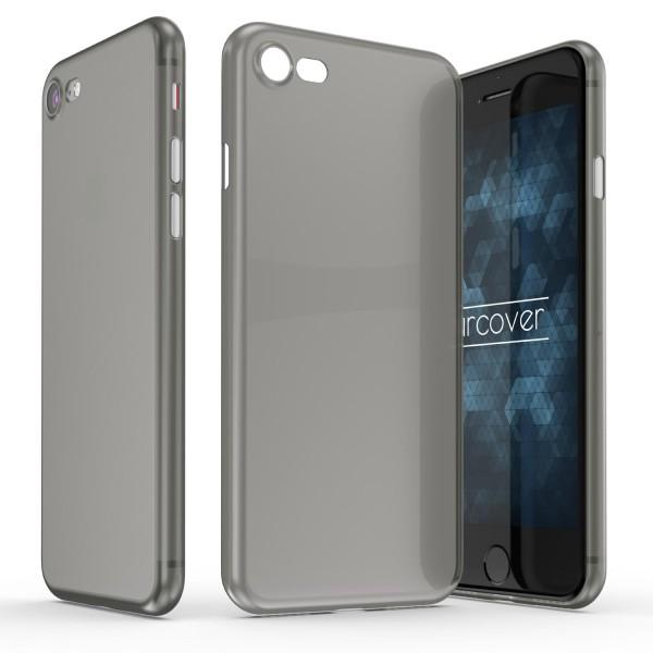 Apple iPhone 7 ULTRADÜNN 0,3mm Hart Backcase Cover Etui transparent Schutz Hülle