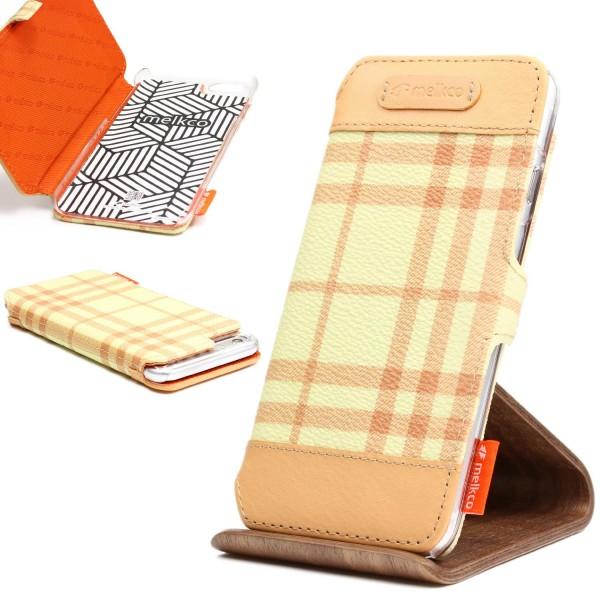 Urcover® Apple iPhone 6 Plus / 6s Plus Schutz Klapp Hülle Flip Case Cover Wallet