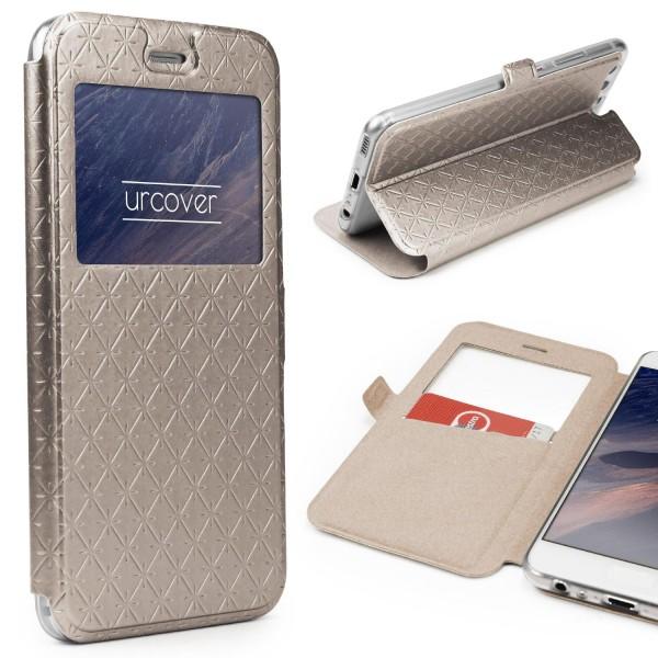 Huawei P10 Plus Sichtfenster Wallet Handy Schutz Hülle View Cover Flip Case Etui