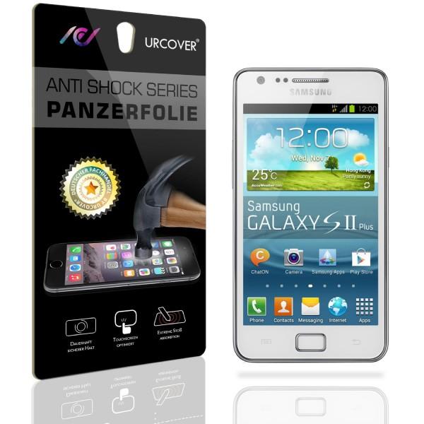 Samsung Galaxy S2 Display Schutz Folie Ultra Klar PET Handy Schutzfolie Clear