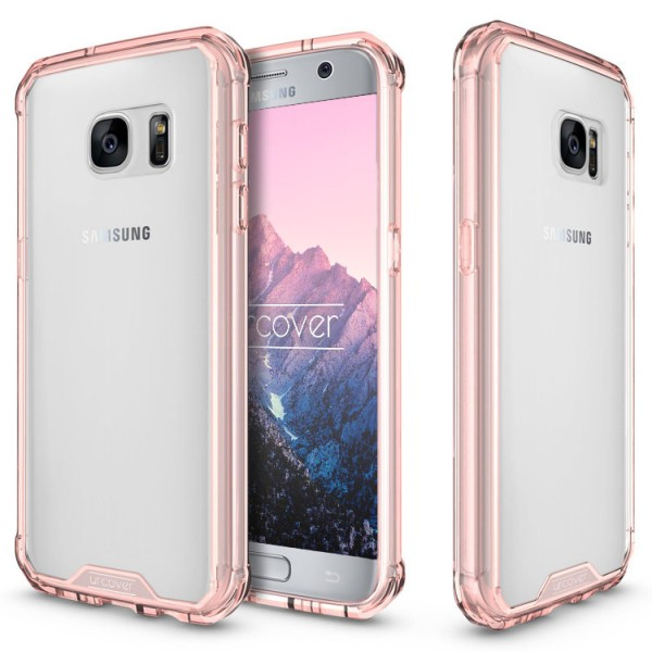 Samsung Galaxy S7 Schutz Hülle ULTRA SLIM Case Cover klar transparent Schale TPU