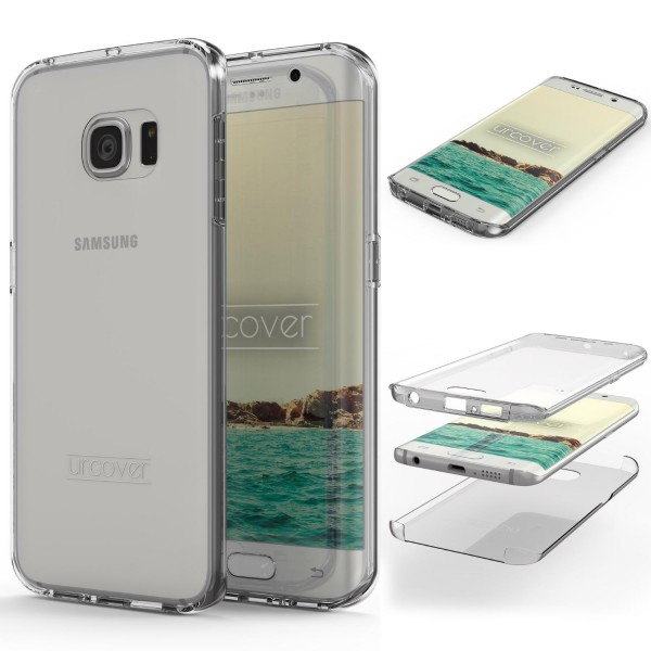 Samsung Galaxy S6 Edge Touch Case 2018 Handy Schutz Hülle 360° Rundumschutz Etui