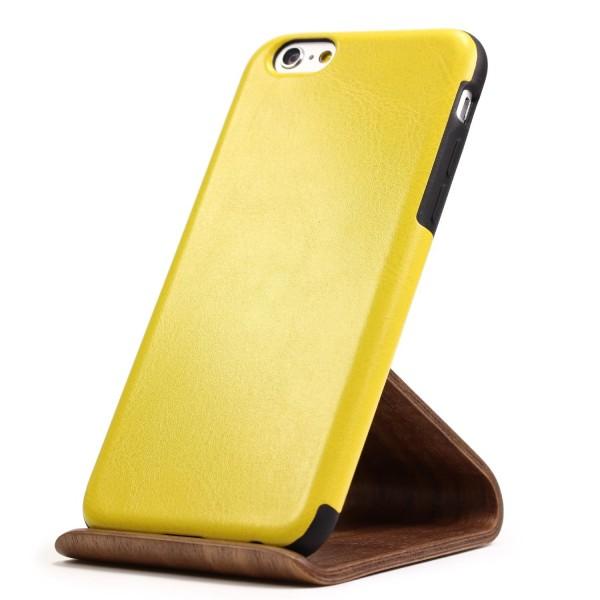 Urcover® Apple iPhone 6 Plus / 6s Plus Kunstleder Back Case Schutz Hülle Cover