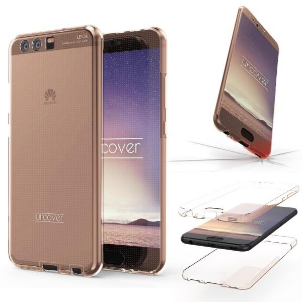 Huawei P10 360 Grad Rundum Schutzhülle Case rundum TPU Etui Cover Tasche Silikon