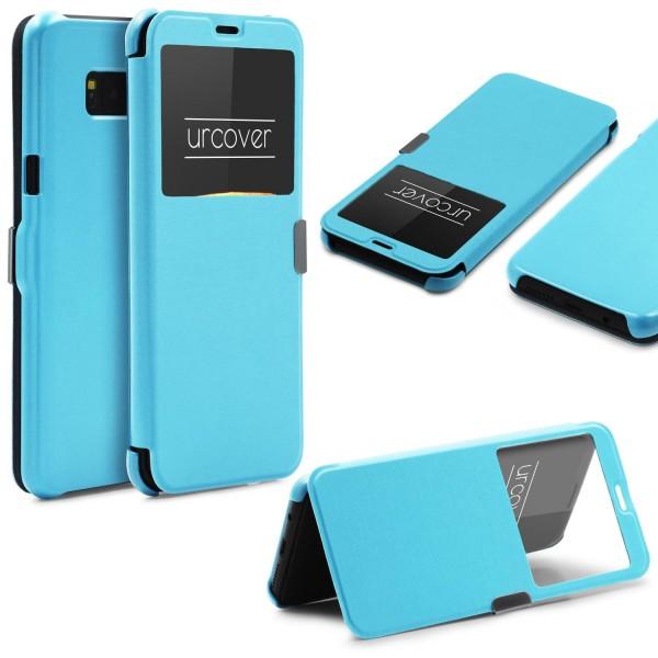 Samsung Galaxy S8 Plus Wallet View Case Schutz Hülle Sichtfenster Cover Flip