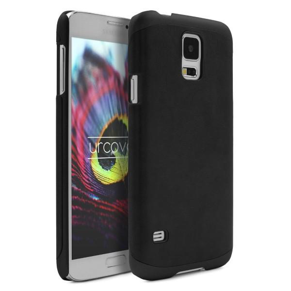 Urcover® Samsung Galaxy S5 Kunstleder Schutzhülle Case Cover Etui Schale Tasche