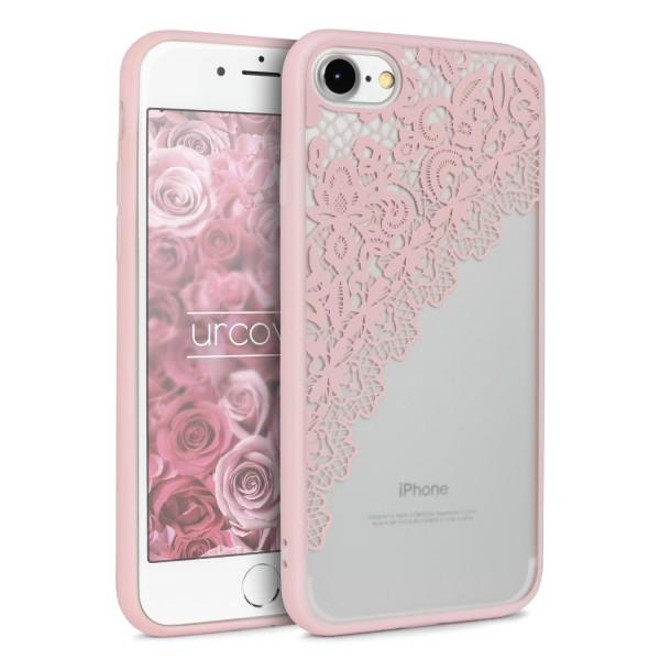 Urcover® Apple iPhone 7 Schutz Hülle Spitzen Muster Back Bumper Case