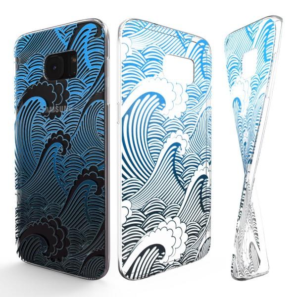 Urcover® Samsung Galaxy S5 Schutz Hülle Case Cover Tasche Silikon Soft Schale