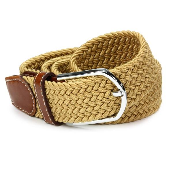 Urcover® Geflochtener Unisex Stretch Gürtel elastisch Damen & Herrengürtel 108cm