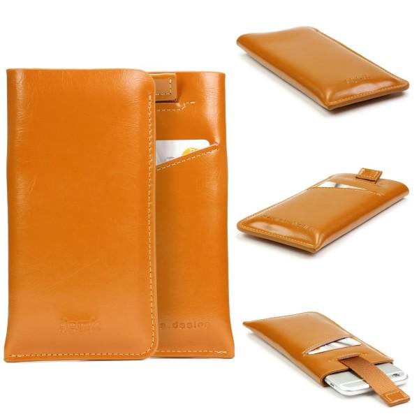 Urcover® Universal 4,7 Zoll Handy Schutz Hülle mit Kartenfach Case Cover