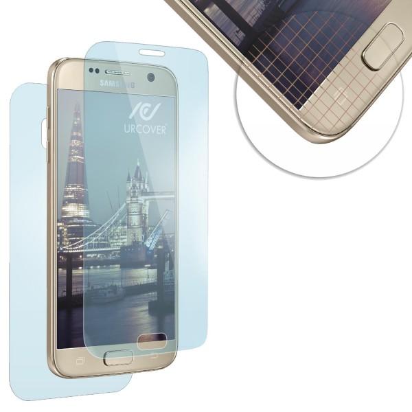 Urcover® Samsung Galaxy S7 vorgebogene Display Schutz Folie Crystal Clear