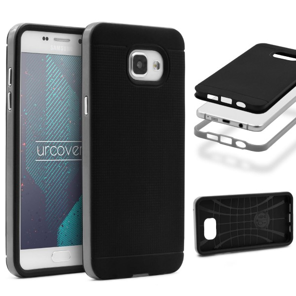 Samsung Galaxy A5 (2016) Schutz Hülle Carbon Style Karbon Optik TPU Case Cover
