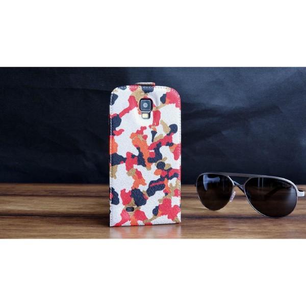 Urcover® Samsung Galaxy S4 Active Kunststoff Schutzhülle Tarn Optik Case Cover