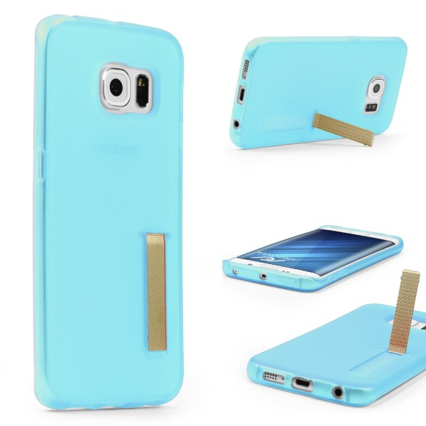 Urcover® Samsung Galaxy S6 Edge Plus Schutz Hülle Standfunktion Soft Case Cover