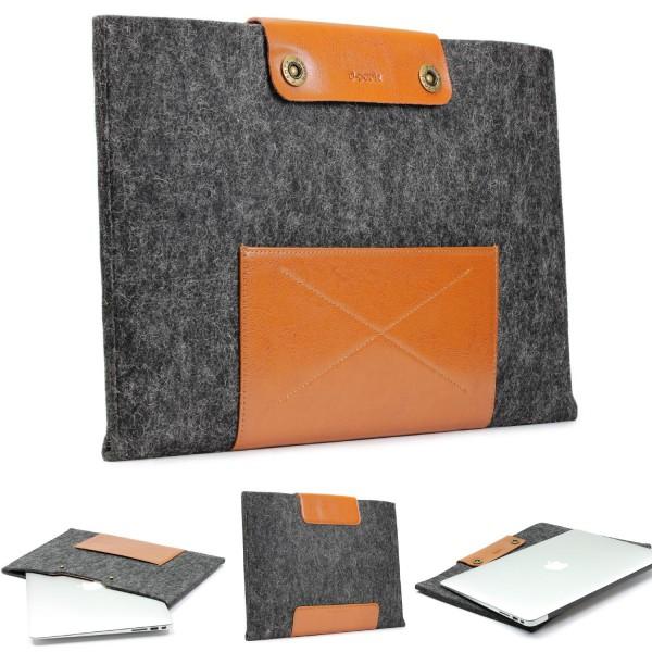 Urcover® Handmade Filz Mac-Book Laptop Tasche 11,6 Zoll