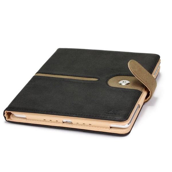 Apple iPad Air 2 Schutz Hülle Smart Cover Kunstleder Tasche Etui