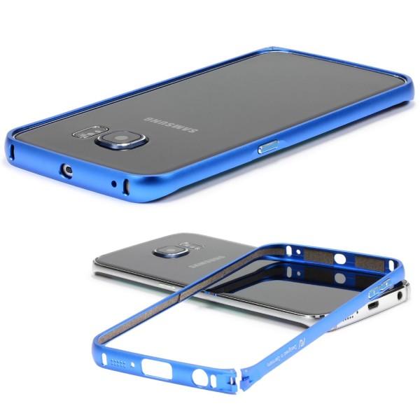 Urcover® Samsung Galaxy S6 Edge Alu Bumper Schutz Hülle Case Cover Tasche Etui