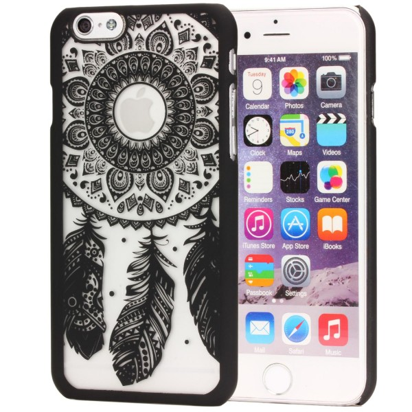 Urcover® Apple iPhone 6 Plus / 6s Plus Feder Back Case Schutz Hülle Design Cover