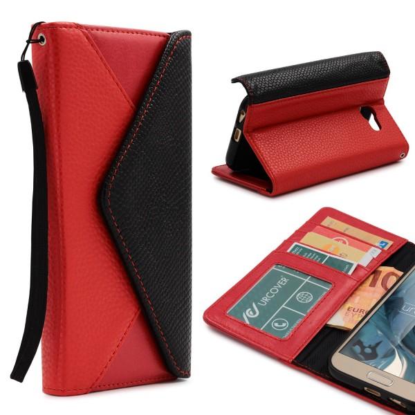 Urcover® Samsung Galaxy A5 (2017) Schutz Hülle Karten & Geld Fach Case Cover