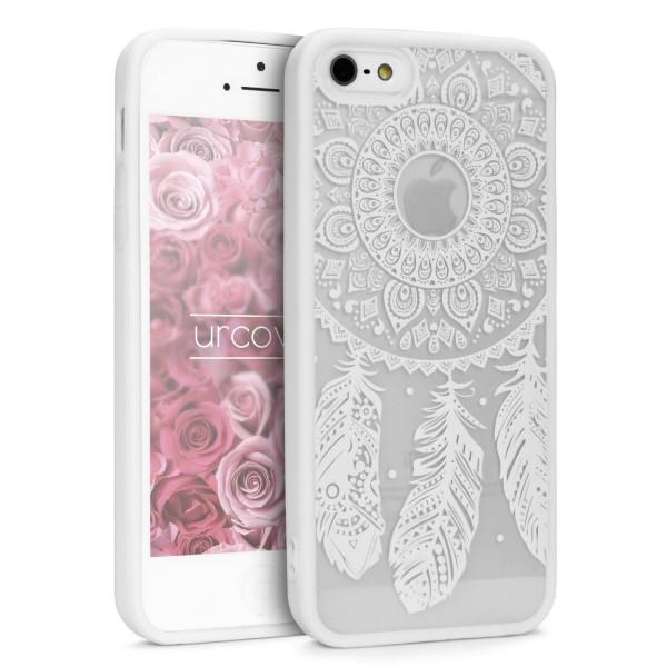 Urcover® Apple iPhone 5 / 5s / SE Feder Back Case Schutz Hülle Design Cover Etui