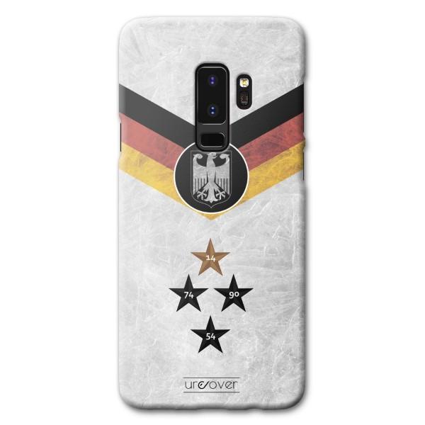 Samsung Galaxy S9 Plus Russland Deutschland WM Hülle Fußball Cover Fan Case Etui