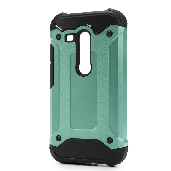 Motorola Moto G OUTDOOR Schutz Hülle TOP Cover Back Case Carbon Optik Etui