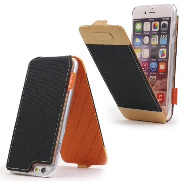 Urcover® Apple iPhone 6 Plus / 6s Plus Flip Schutzhülle Cover Wallet Kunstleder