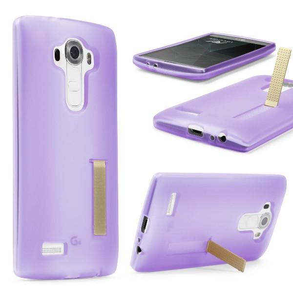 Urcover® LG G3 Schutz Hülle mit Standfunktion Soft Case Cover Tasche Etui Schale