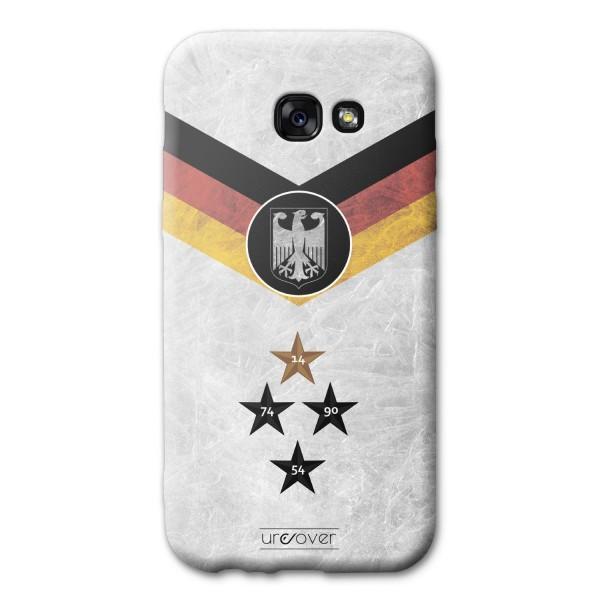 Samsung Galaxy A5 (2017) Handyhülle Fanartikel Fussball Case Fußball