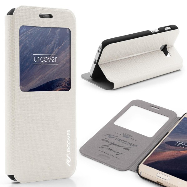 Samsung Galaxy A5 (2017) View Case Schutzhülle Wallet Cover Etui Tasche Struktur