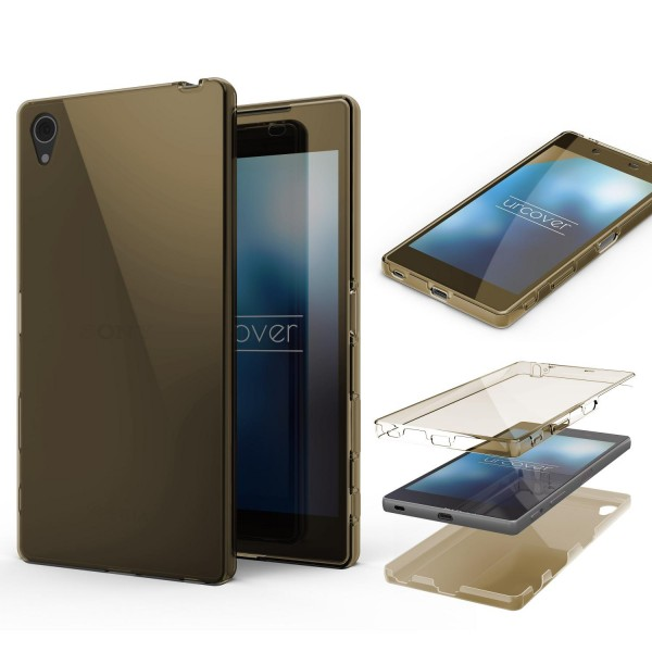 Sony Xperia Z5 TPU Case 360 Grad Schutz Hülle Etui Cover Touch Case rundum safe