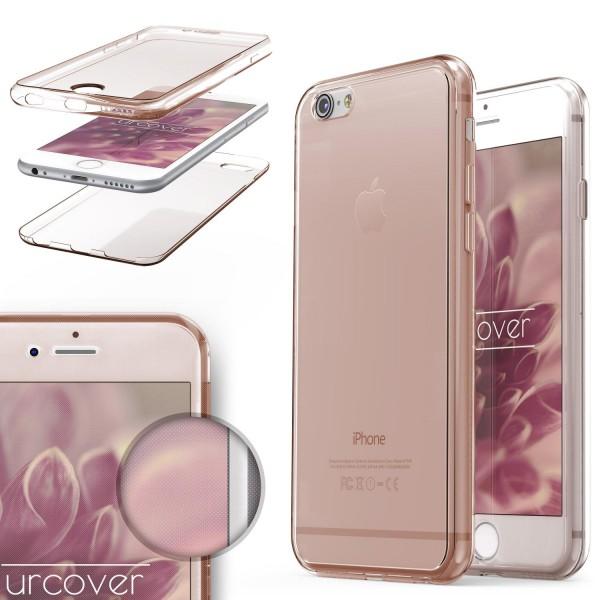 Apple iPhone 6 / 6s TPU Case 360 Grad Schutz Hülle Etui Cover Touch Case
