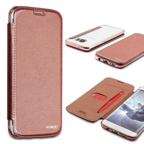 Samsung Galaxy S7 Edge Schutzhülle Wallet Klapp Cover Flip Case Tasche Etui