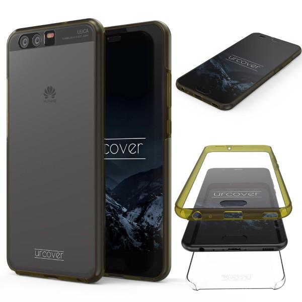 Urcover Huawei P10 Touch Case 2.0 Hard Edition berühmt durch Galileo Rundum 360° Crystal Clear Schutzhülle